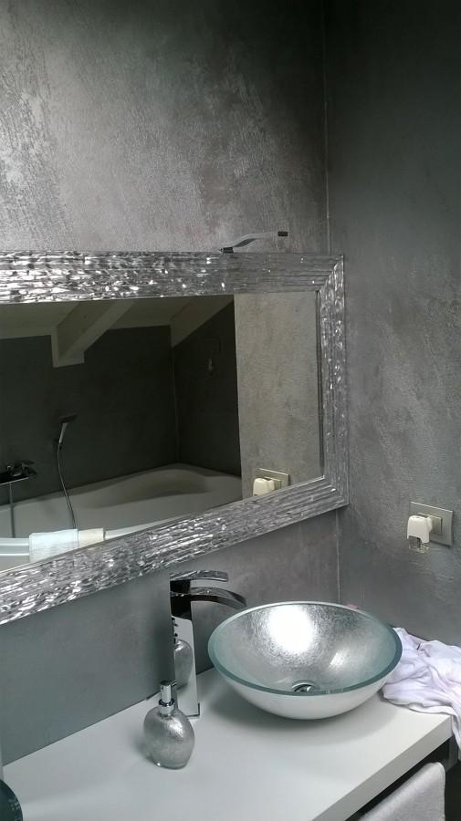 Realizzazione di Cemento Spatolato Lucidato Bagno | Idee Imbianchini