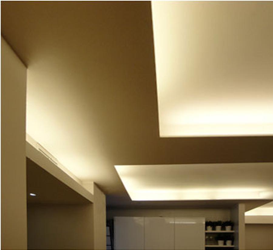 Appartamento di 75mq milano idee ristrutturazione casa for Controsoffitto soggiorno