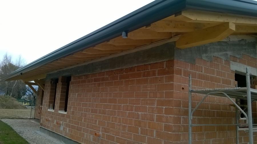 Costruzione abitazione unifamiliare con il sistema della for Casa legno vs muratura