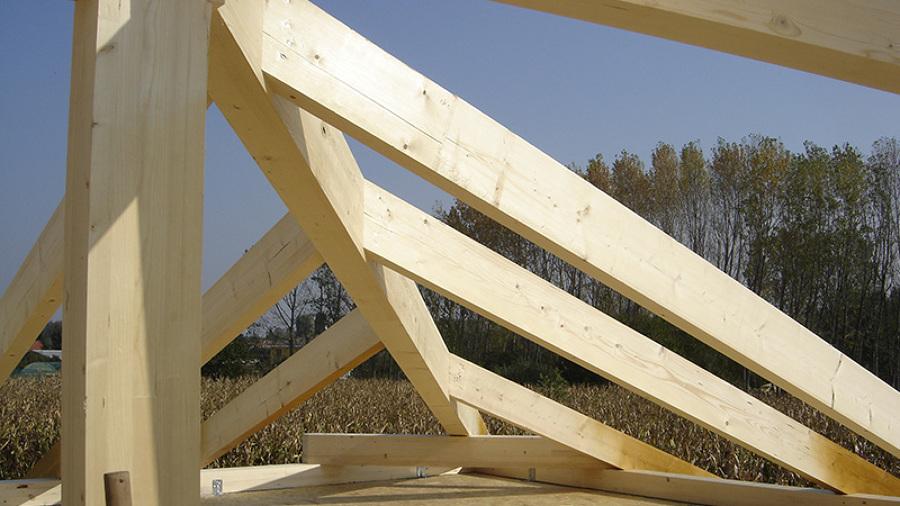 Particolare costruzione tetto
