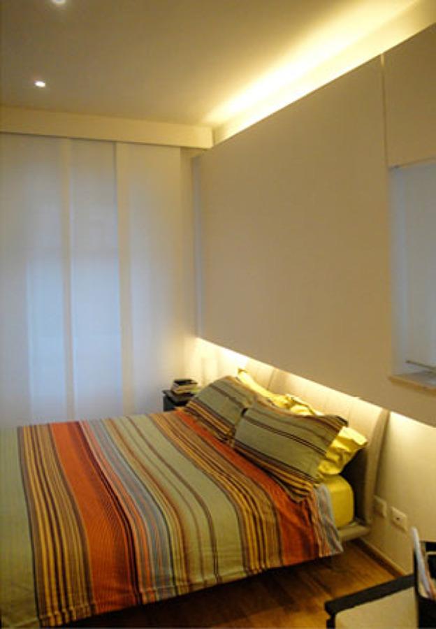 Parete Camera Da Letto Particolare : Appartamento di mq milano idee ristrutturazione casa