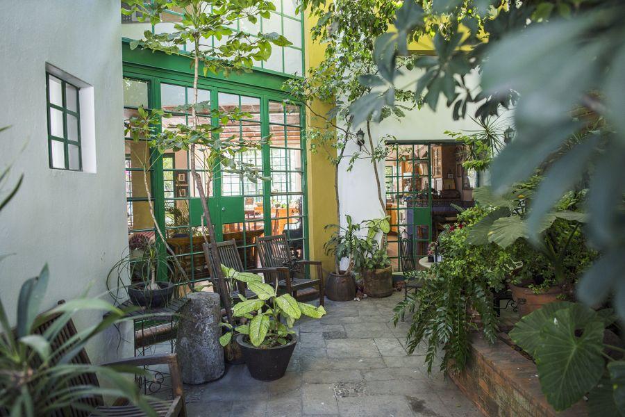 patio stile tropicale