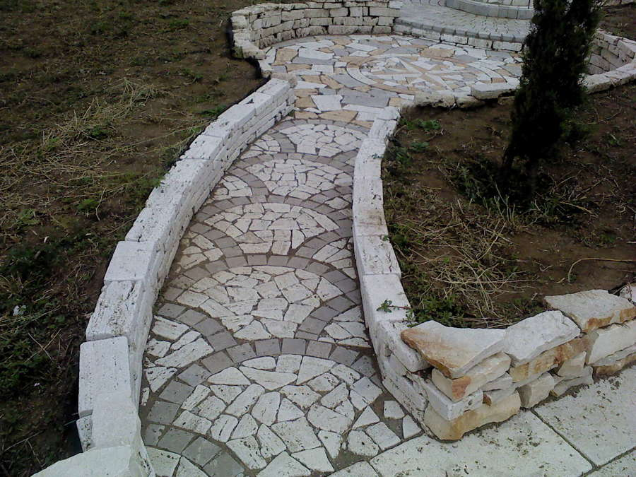 pavimentazione con palladiana varie misure