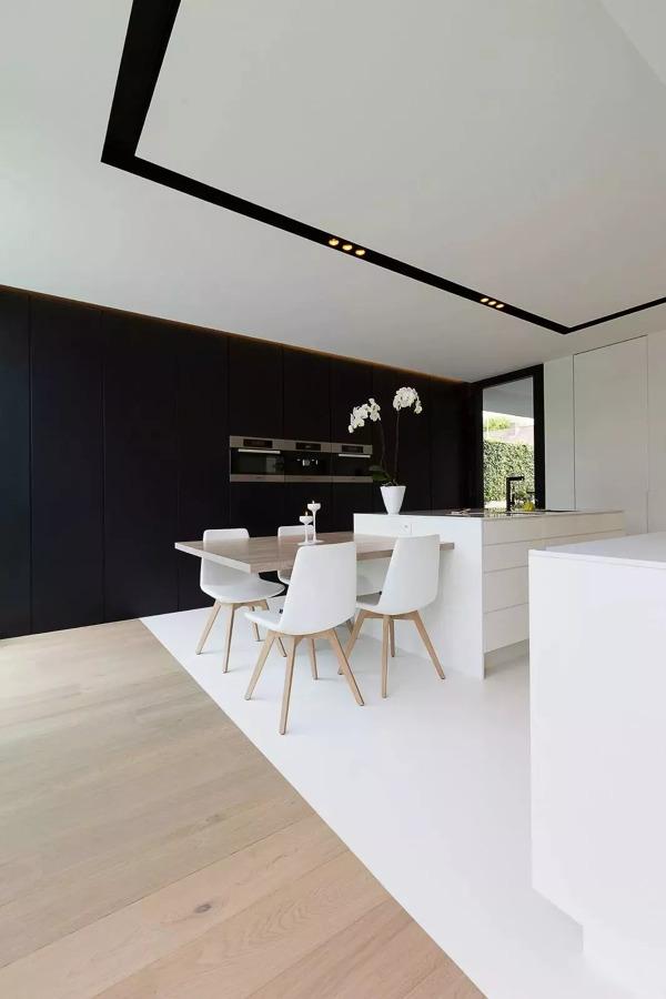 pavimento in resina cucina