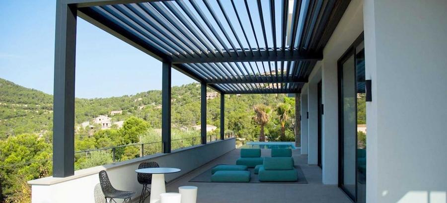 Foto: Pergola Bioclimatica Terrazzo di Rossella Cristofaro #510207 ...