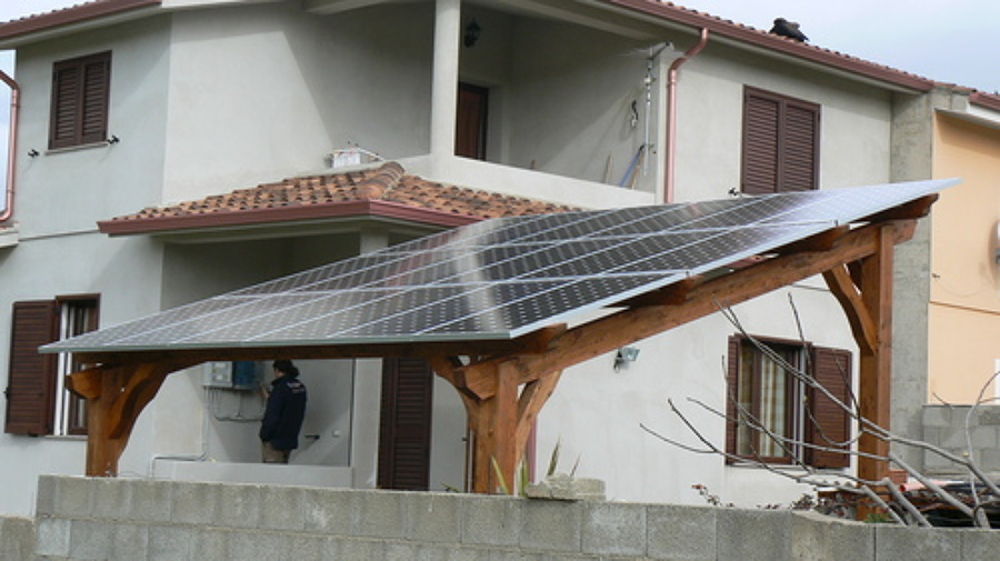 Pannello Solare Per Gazebo : Progetto pergola fotovoltaica idee geometri