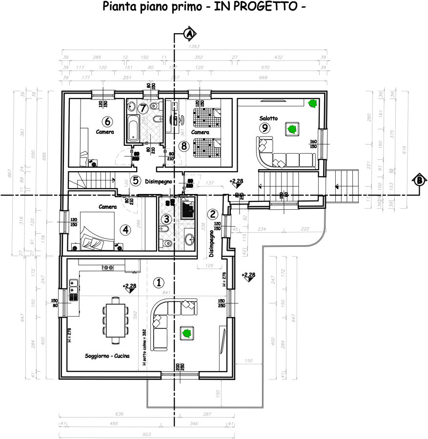 Progetto di ristrutturazione casa idee ristrutturazione casa for Idee del piano di progetto