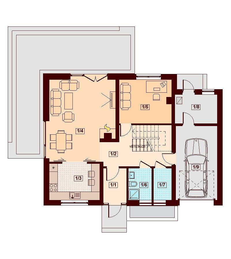 Casa angela idee costruzione case prefabbricate for Idee piano terra