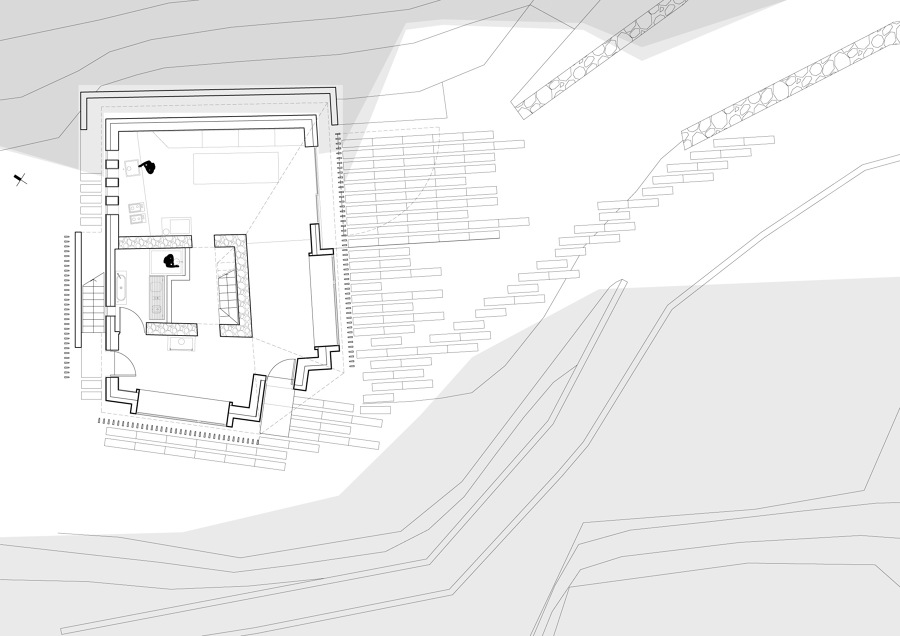 Piccolo rifugio privato in collina idee ristrutturazione for Idee piano terra