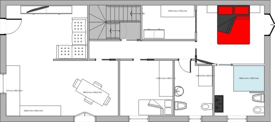 Progetto per costruzione casa moderna idee costruzione case for Idee del piano di progetto