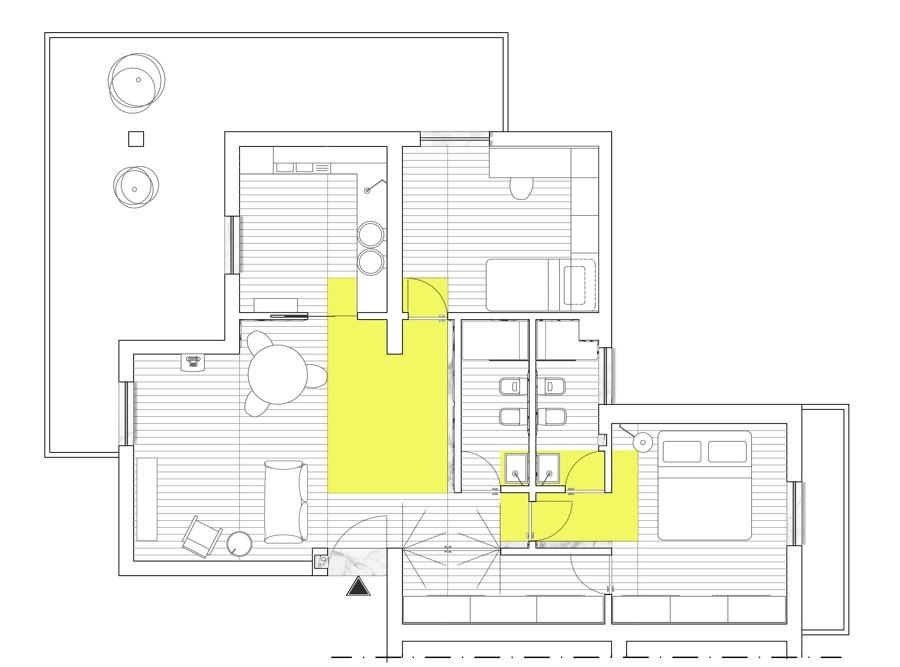 Pianta appartamento idee di design per la casa for Idee appartamento