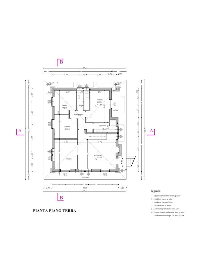 Nuova costruzione villa unifamiliare nel comune di carenno for Idee piano terra