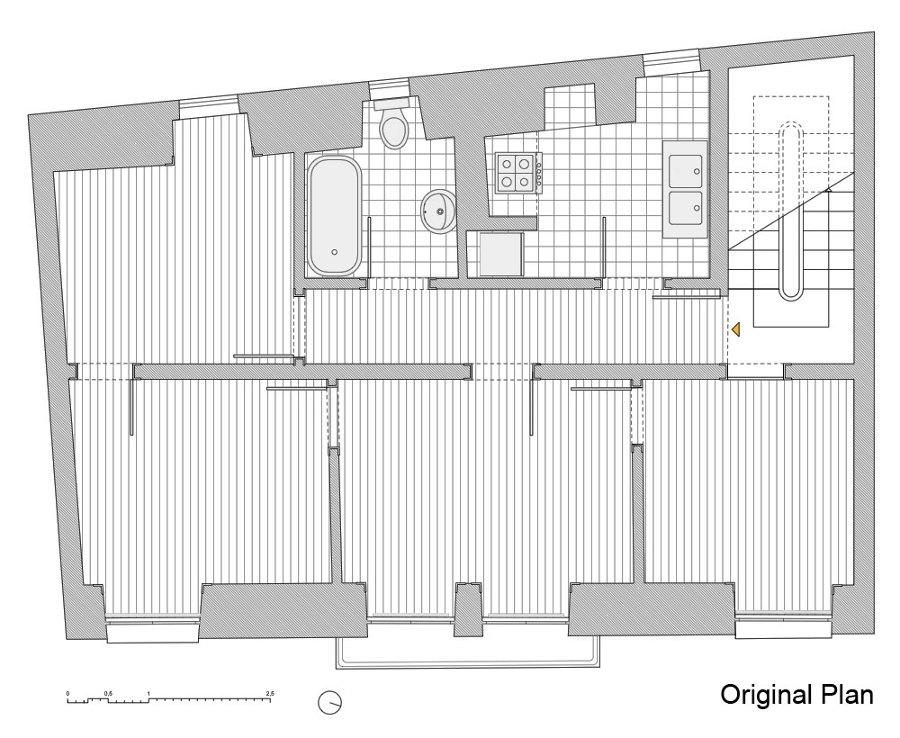 Ristrutturazione di un elegante appartamento storico a - Lavori in casa prima del rogito ...