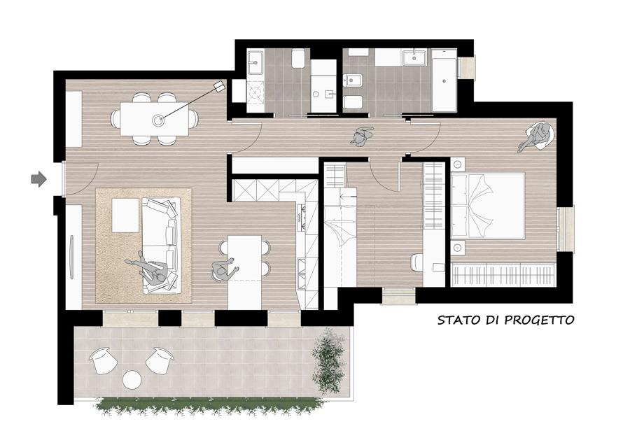 foto pianta progetto di a m architects 447746 habitissimo