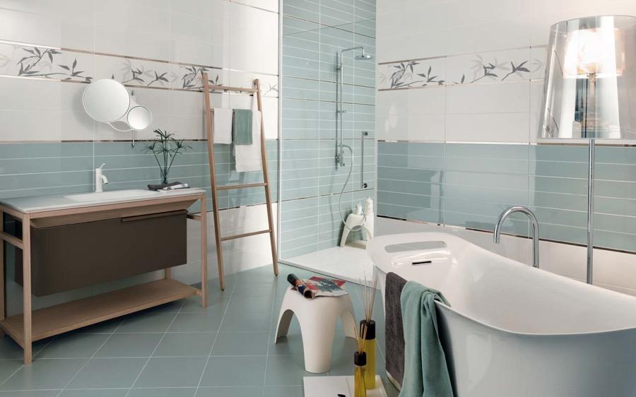 Piastrelle che materiale scegliere idee muratori - Piastrelle grigie bagno ...