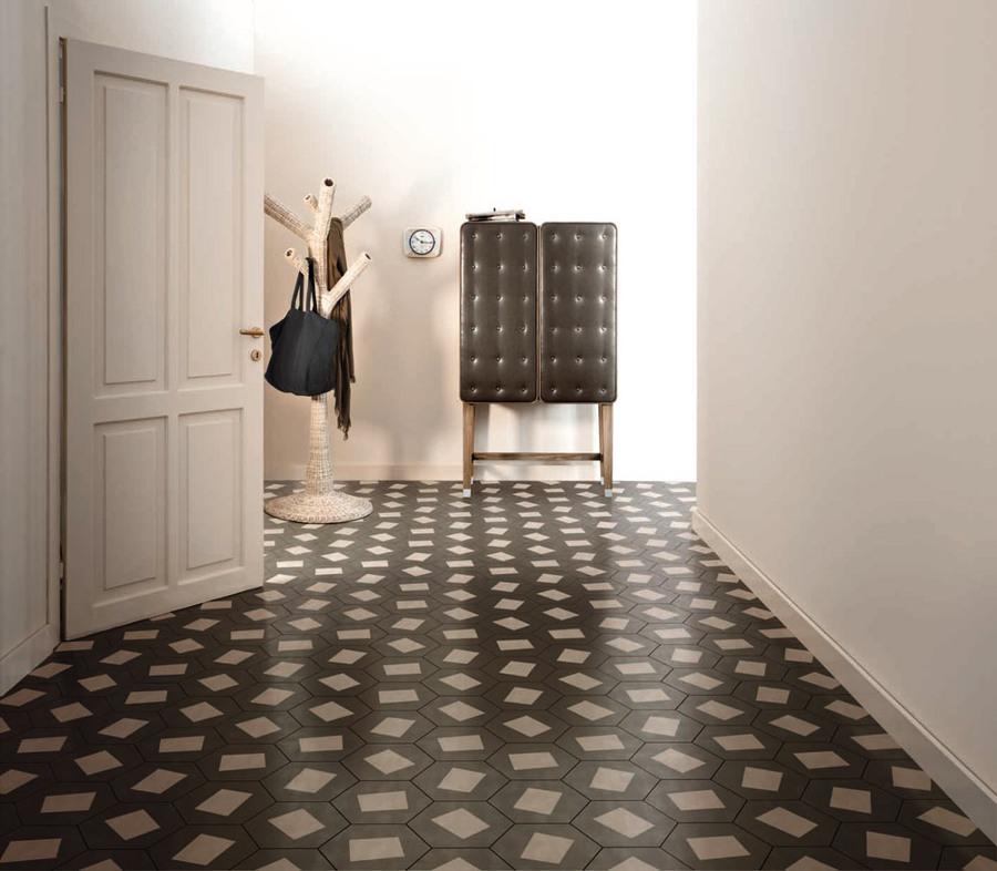 Foto piastrelle bianco e nero di marilisa dones 349087 - Piastrelle vintage ...