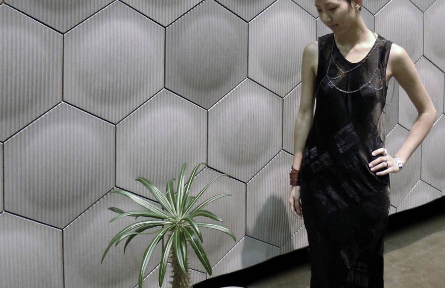 piastrelle cemento esagonali