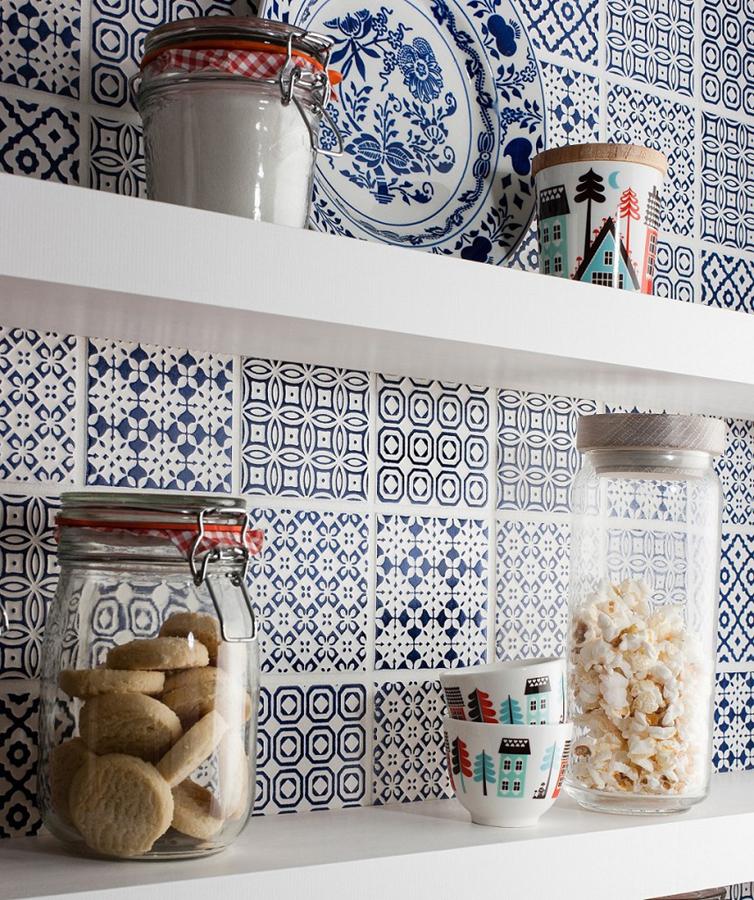 Amato Foto: Piastrelle con Motivi In Blu e Bianco di Rossella Cristofaro  VN46