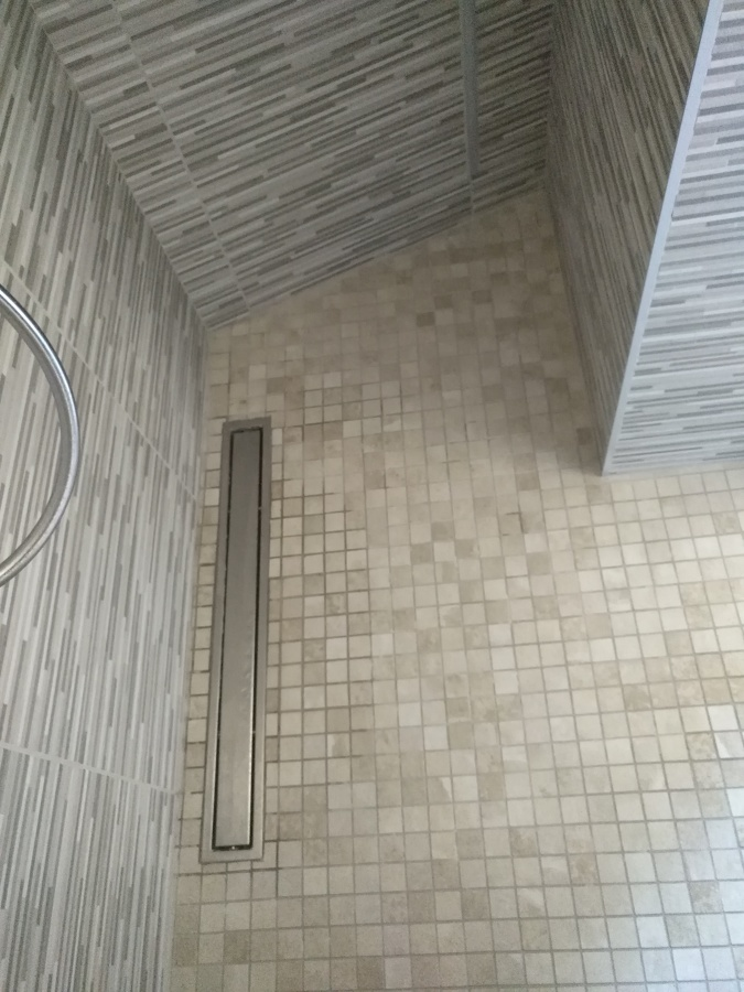 piato doccia in muratura