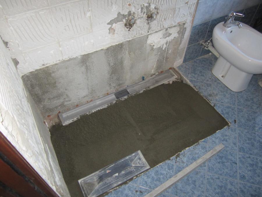 Foto piatto doccia in muratura di d p edilizia generale - Piatto doccia piastrellabile ...