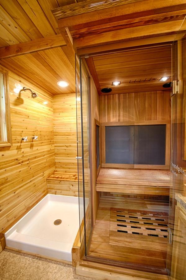 piccola casa con sauna spa