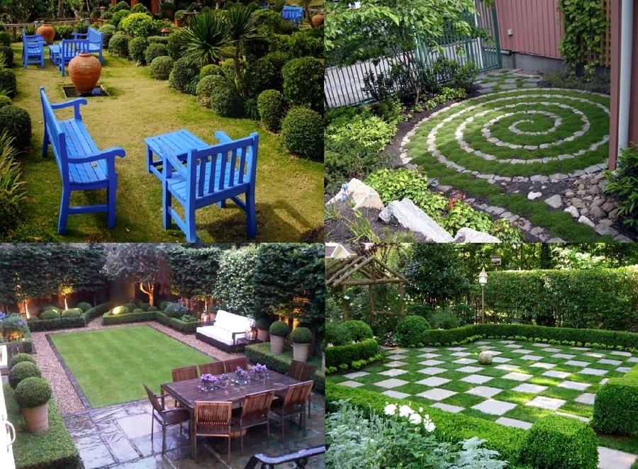 Vari progetti idee paesaggisti - Idee giardini piccoli ...
