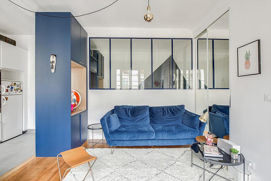 Foto piccolo appartamento di 35 mq di rossella cristofaro for Monolocale 35 mq