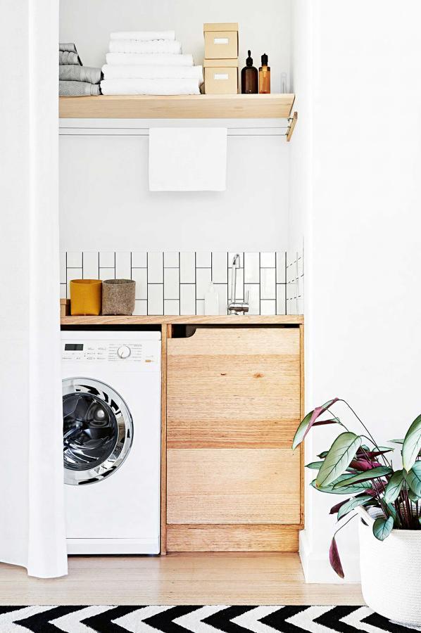Piccolo spazio lavanderia