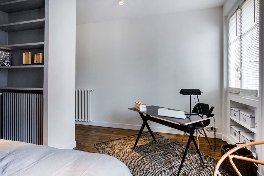 Foto piccolo studio in camera da letto di rossella cristofaro 623186 habitissimo - Studio in camera da letto ...