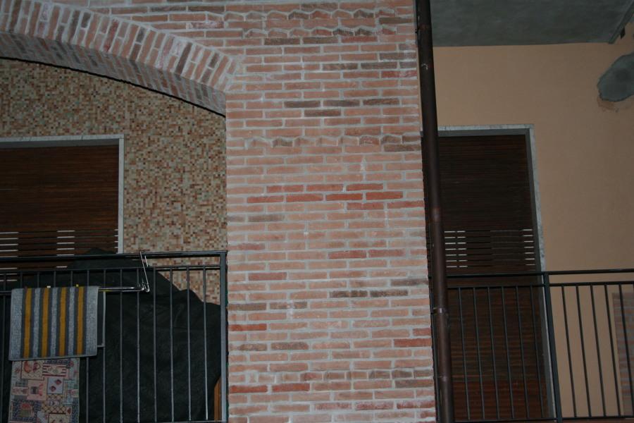 Foto: Pilastri Rivestiti con Mattoni a Vista di Edil 3t Di Traina Alfonso #39...