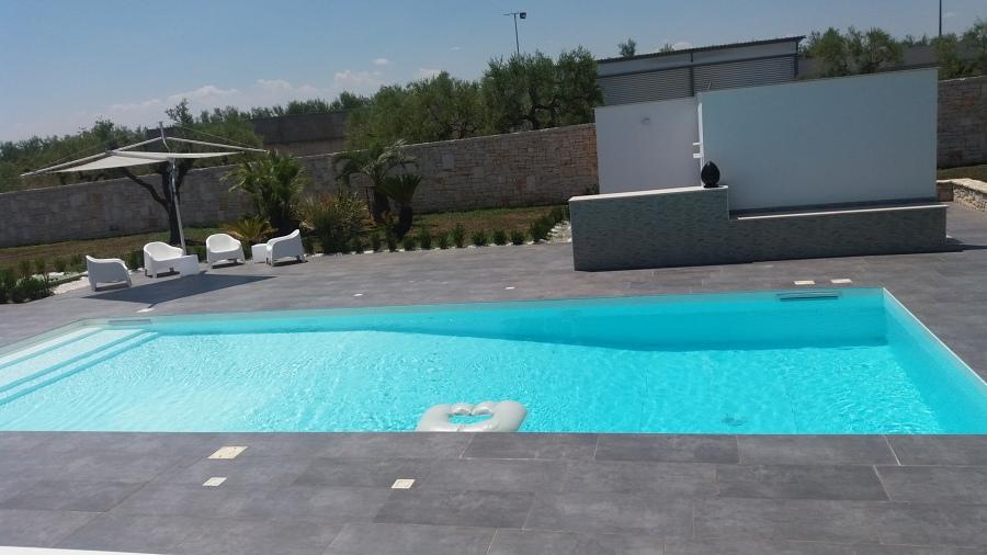 Piscina 6 x 12 in cemento armato idee manutenzione piscine - Piscina cemento armato ...