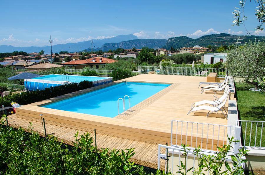 Piscina fuori terra rivestita in wpc idee costruzione piscine - Piscine fuori terra rivestite ...