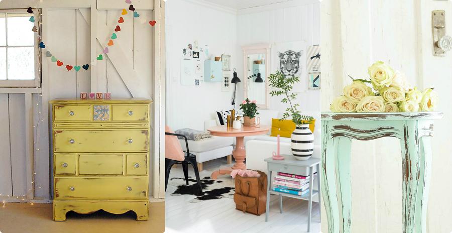 Tutorial Pittura Shabby Chic : Rinnova i tuoi mobili con la chalk paint! idee interior designer