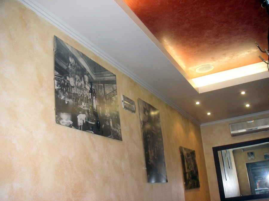 Progetto di pitture decorative di gran pregio casa dei for Idee pitture interni