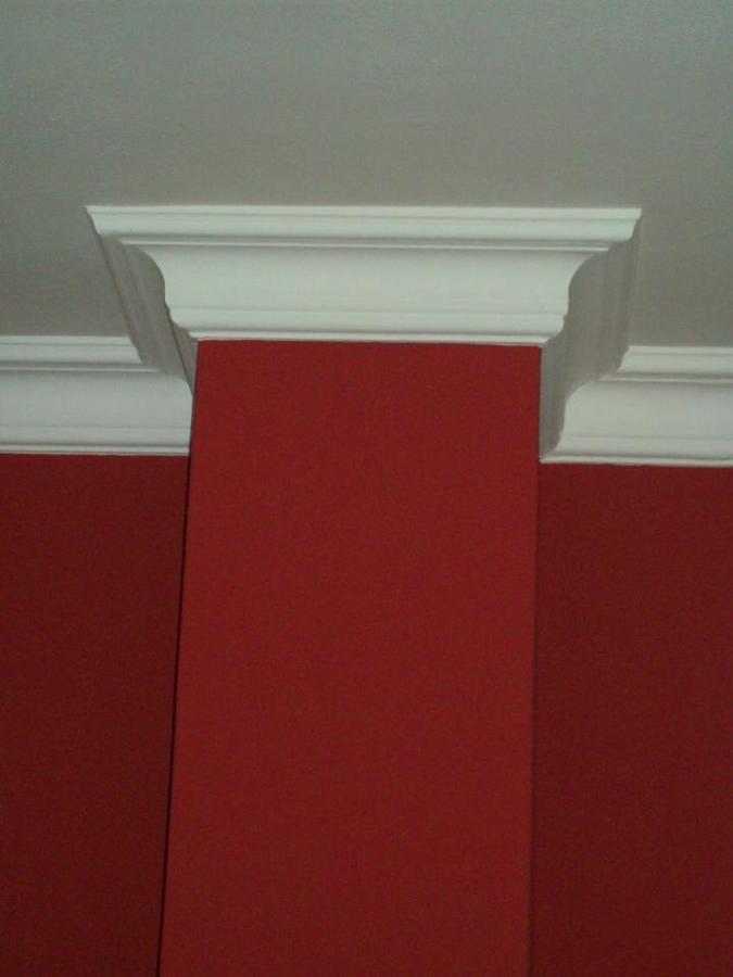 Lavori con cornici in gesso idee ristrutturazione casa for Pitture per saloni