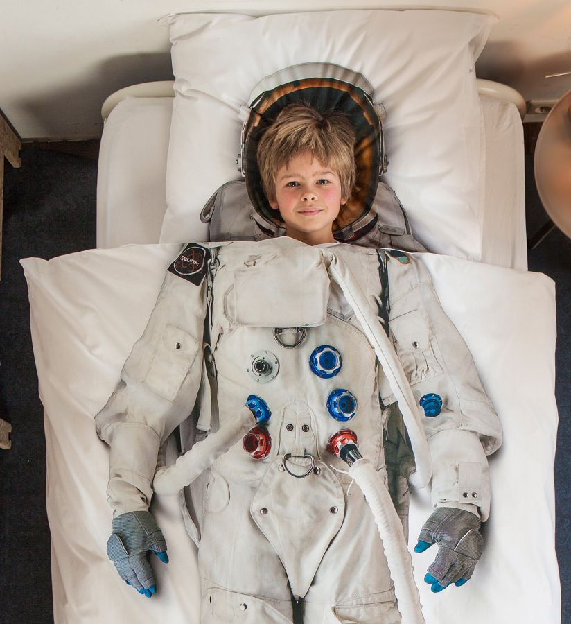 piumone astronauta