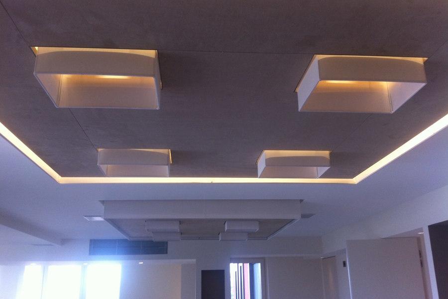 Plafoniere Living : Appartamento residenziale idee architetti