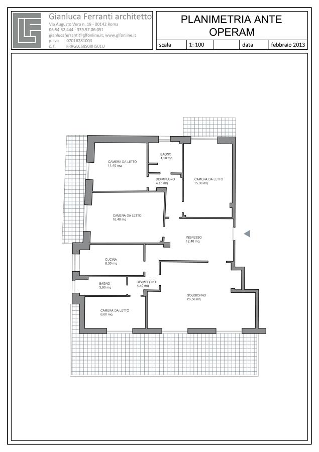 Progetto Ristrutturazione Completa di un Appartamento a Roma | Idee ...