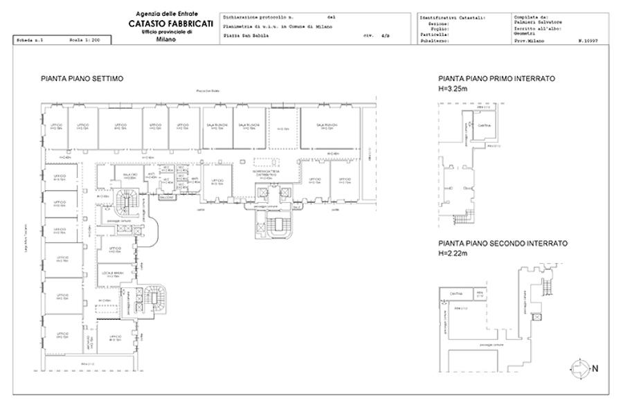 Foto: Planimetria Catastale di Studio Tecnico Approjects #361722 ...