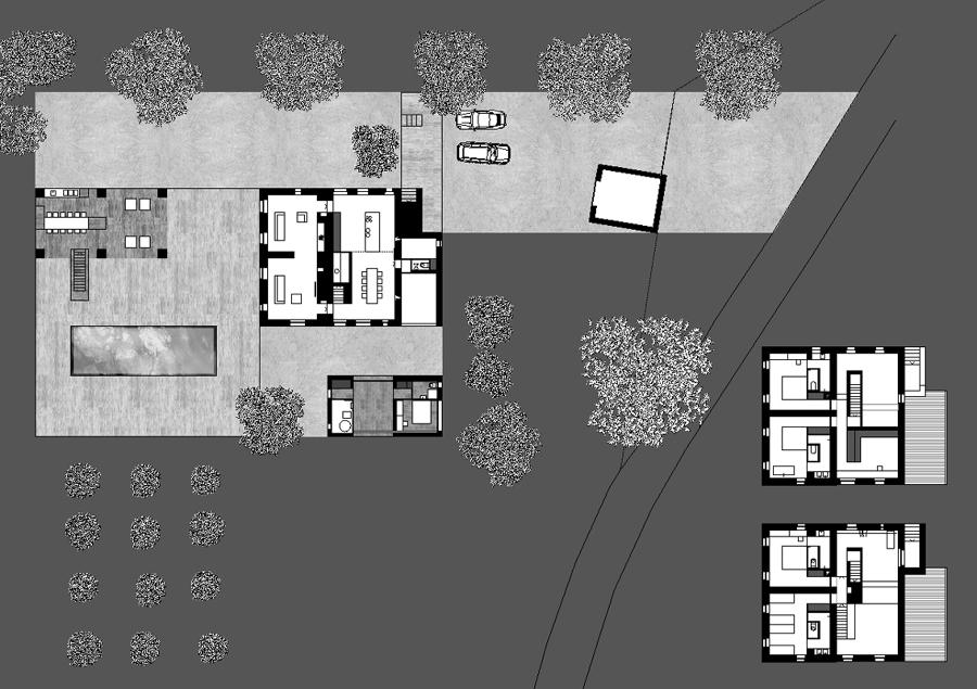Planimetria del complesso