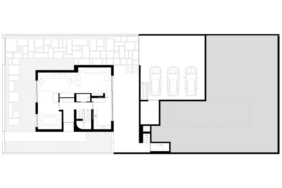 Ristrutturazione di casa indipendente idee architetti - Casa piano rialzato ...