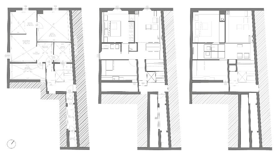 Progetto ristrutturazione casa centro storico idee for Progettazione di architettura online