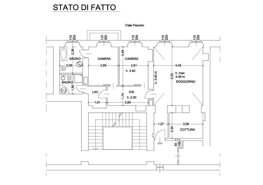 PLANIMETRIA STATO DI FATTO