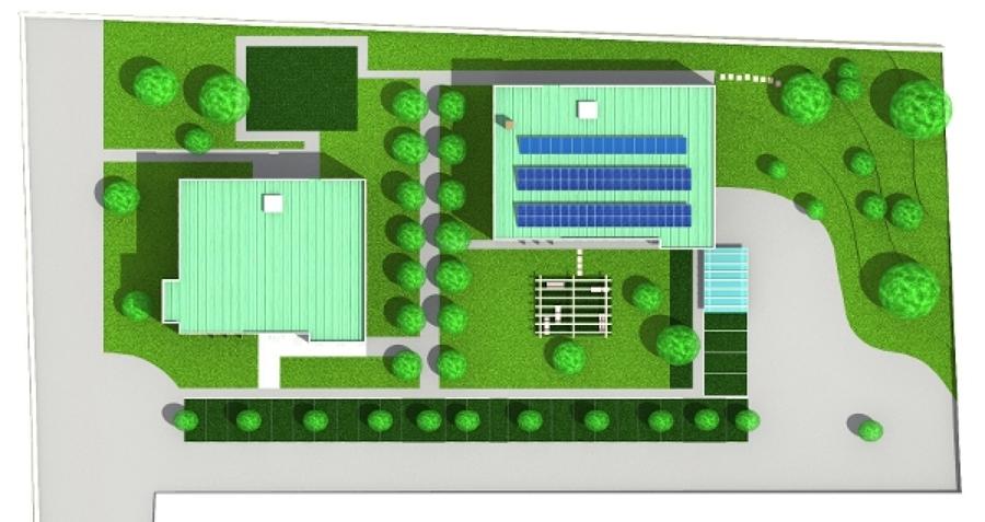 Progetto di due edifici residenziali a pavia pv idee for Planimetria casa tradizionale giapponese