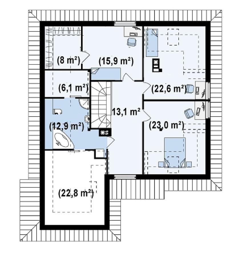 Foto planimetrie mansarda di woodsolution srl 339945 for Planimetrie di pontili e travi