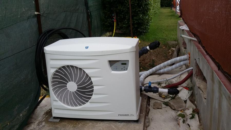 Pompa di calore aria acqua idee costruzione case for Costo pompa di calore aria acqua