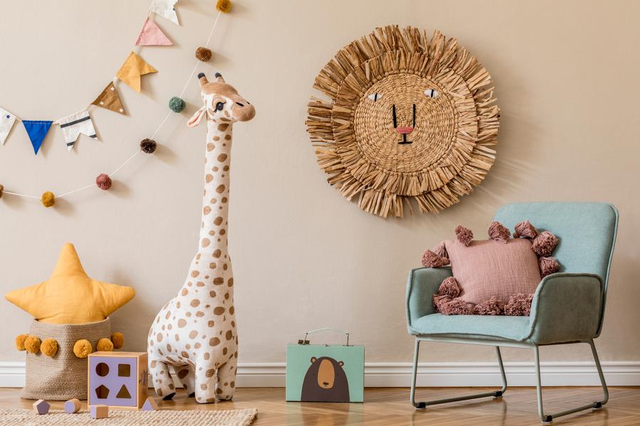 pon pon decorativi per bambini