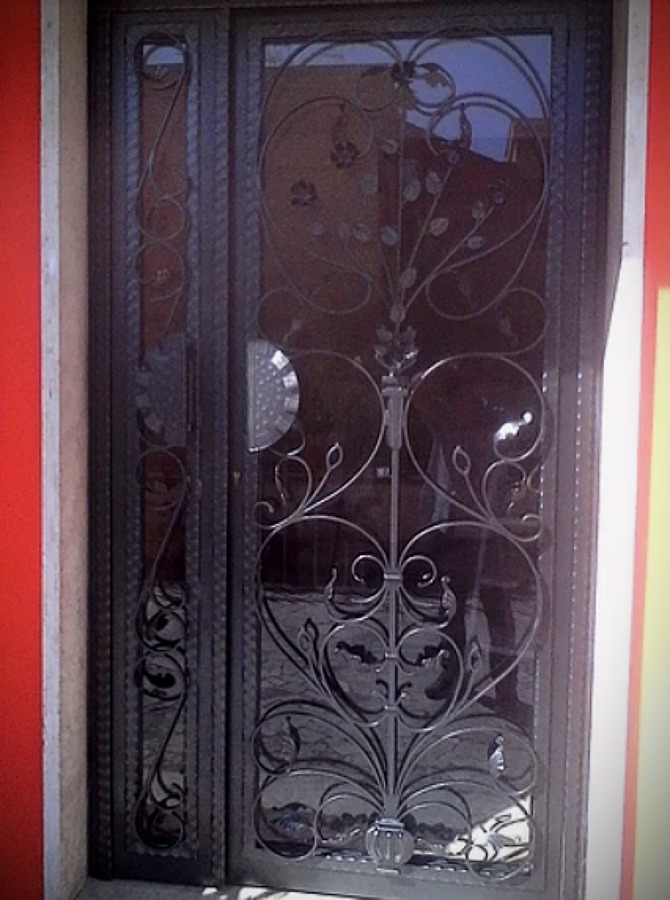 Porta esterna (dopo)