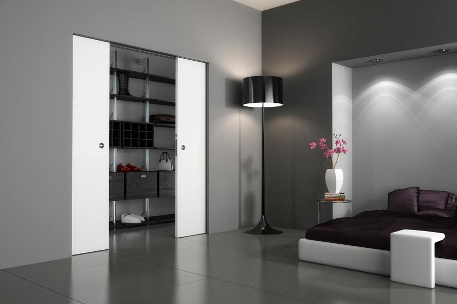 Filomuro soluzioni per separare ambienti idee pavimenti - Porta filo muro prezzo ...