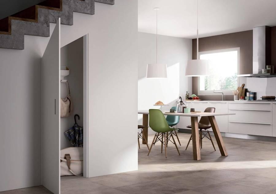 Filomuro soluzioni per separare ambienti idee pavimenti - Porta su parete cartongesso ...